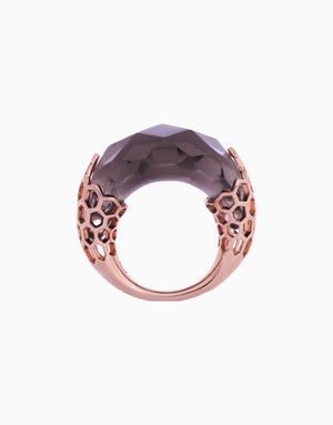 BANSRI JEWELRY ROSEGOLD TORI BUBBLE RING