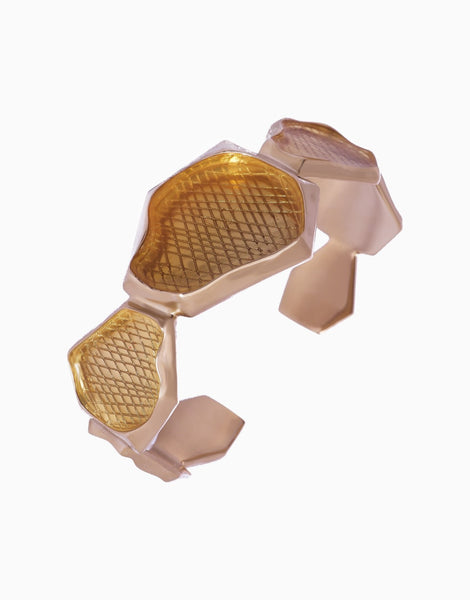 Gold Ivanka Statement Cuff