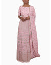 Umrao Couture - Pink Embroidered Lehenga Set With Dupatta - INDIASPOPUP.COM