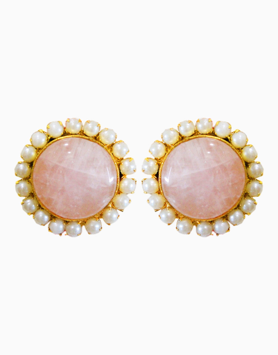 HYPERBOLE PASTEL PEARL EARRINGS