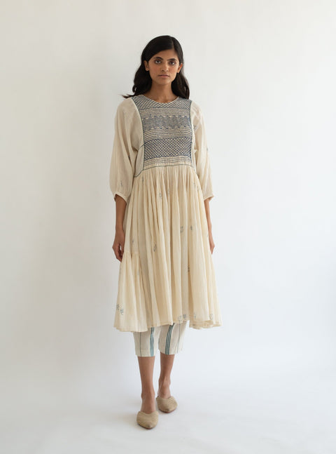 Cord-Ivory River Dress-INDIASPOPUP.COM