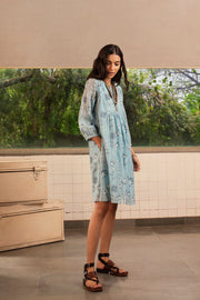 Payal Pratap-Light Blue Leslie Dress-INDIASPOPUP.COM