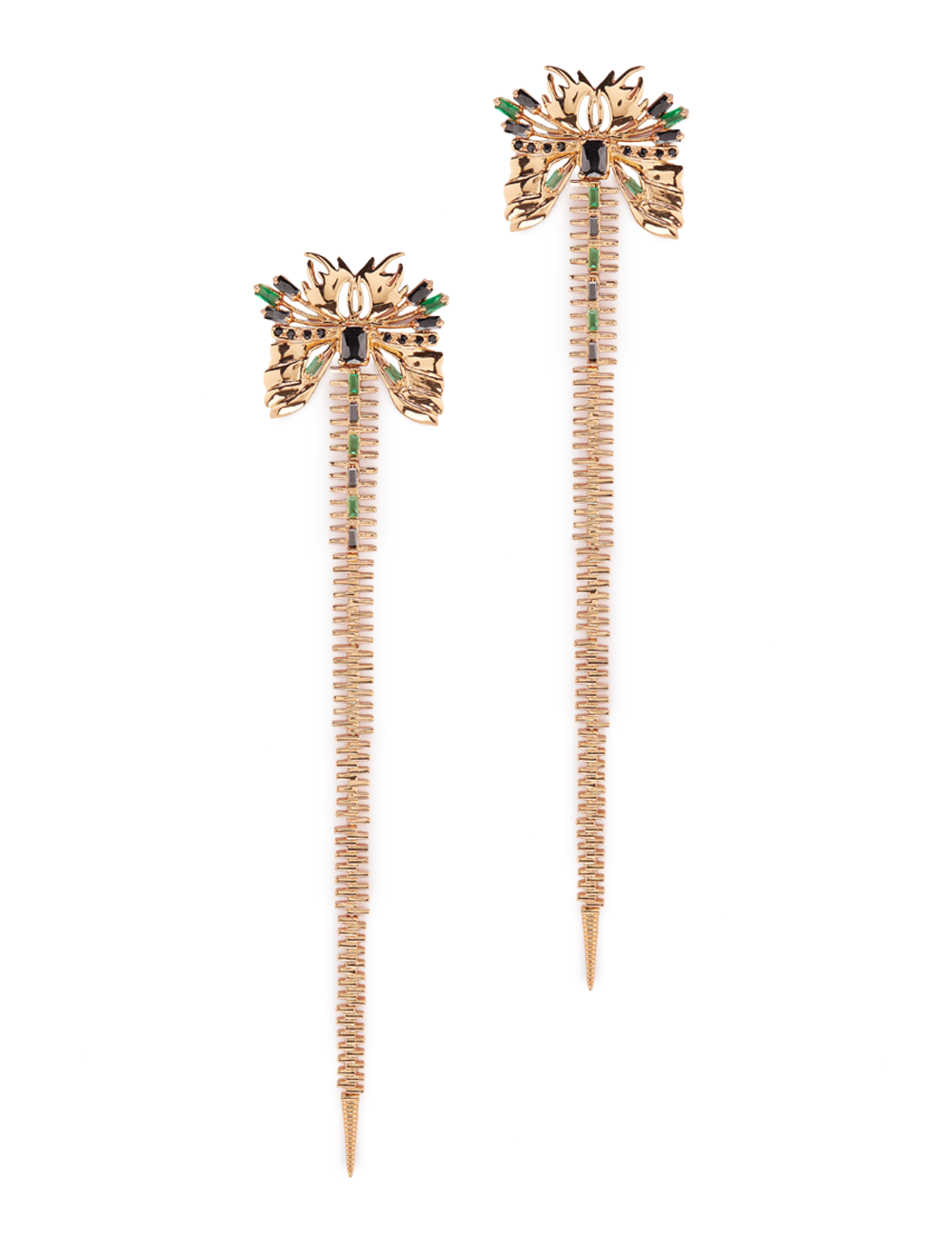 OUTHOUSE SYLPHINA ZIPTAIL EARRINGS