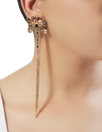 Outhouse - Sylphina Ziptail Earrings - INDIASPOPUP.COM