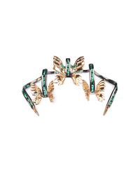 OUTHOUSE SWALLOWTAIL CAROUSEL CLAW RING