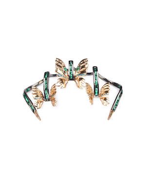 Outhouse - Swallowtail Carousel Claw Ring - INDIASPOPUP.COM
