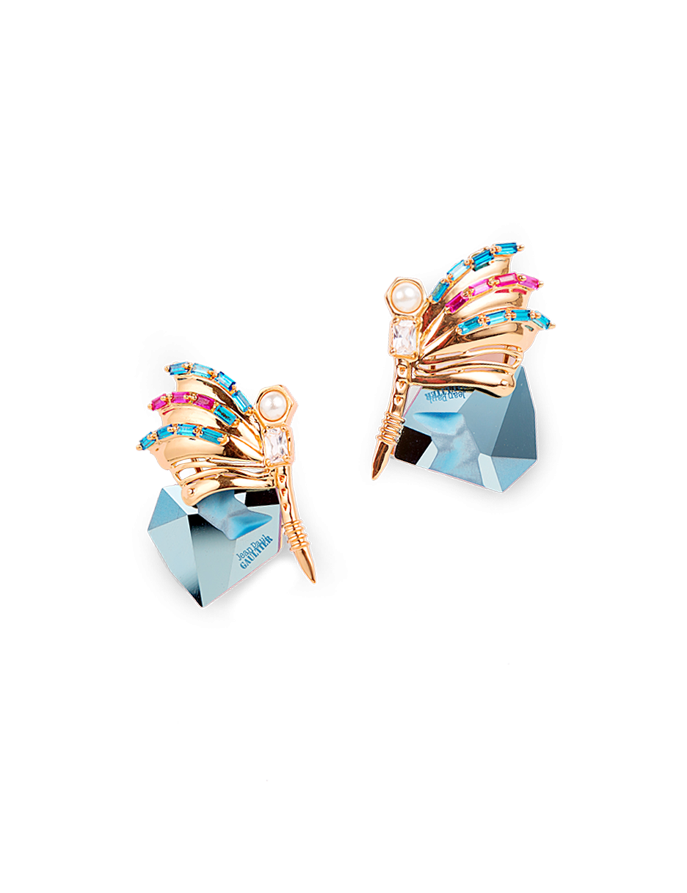 OUTHOUSE BLUE MORPHO STUDS