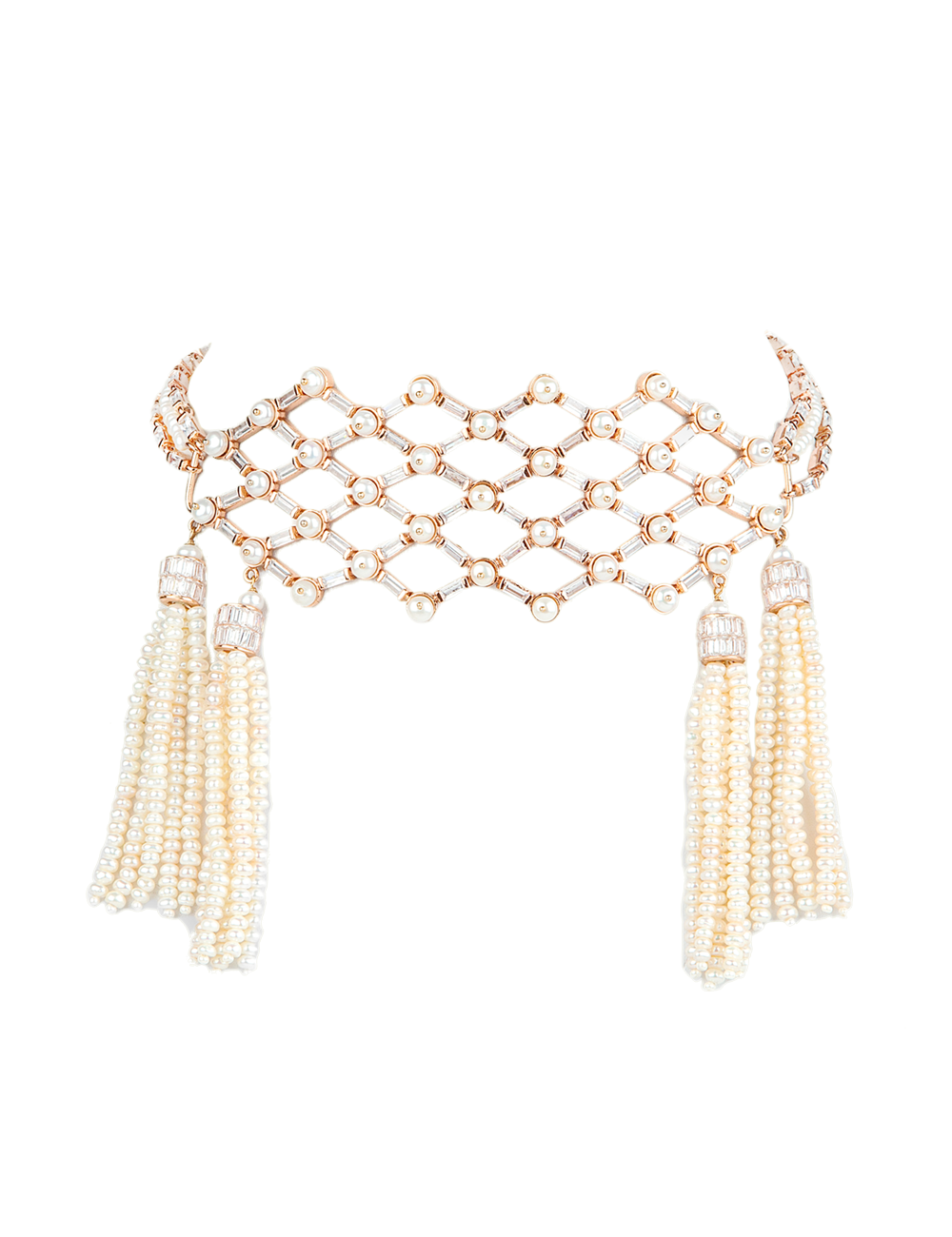 OUTHOUSE WEAVE OF LOVE CHOKER