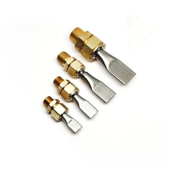 Flat Swivel Nozzle with Male Clamp