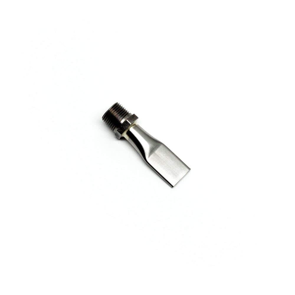 "3/8"" Flat Threaded Coolant Nozzle"