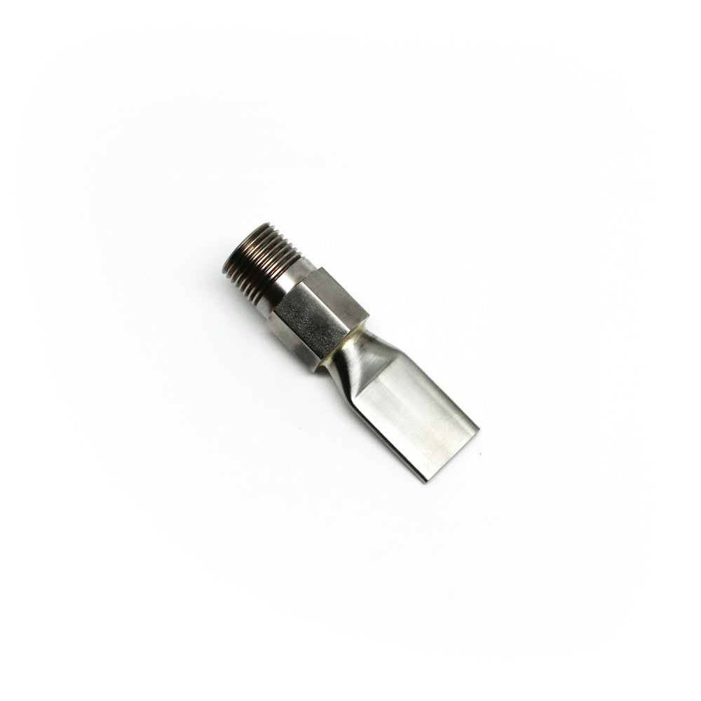 "1/2"" Flat Threaded Coolant Nozzle"