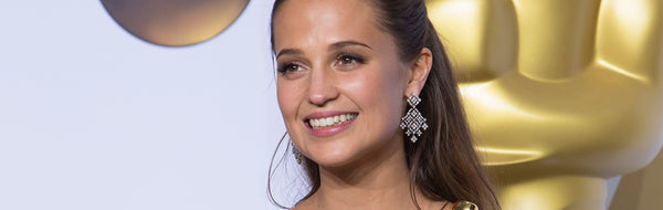 The 7 Best Earrings Worn By Alicia Vikander On The Red Carpet