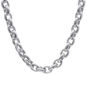 Load image into Gallery viewer, Sterling Silver Chunky Electroform Cable Chain Necklace