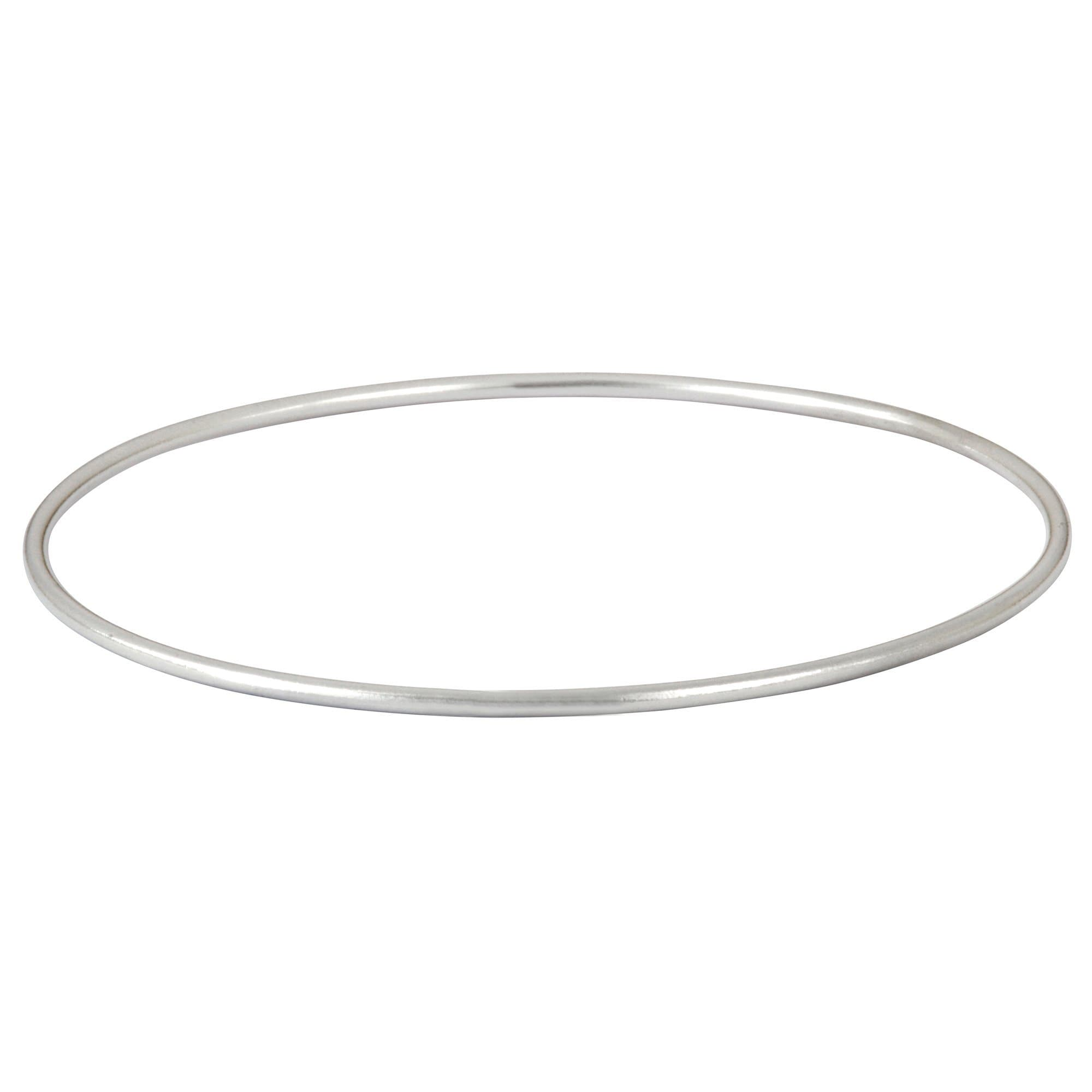 carat of bangles tw thin bracelets in silver with diamonds bracelet bangle sterling