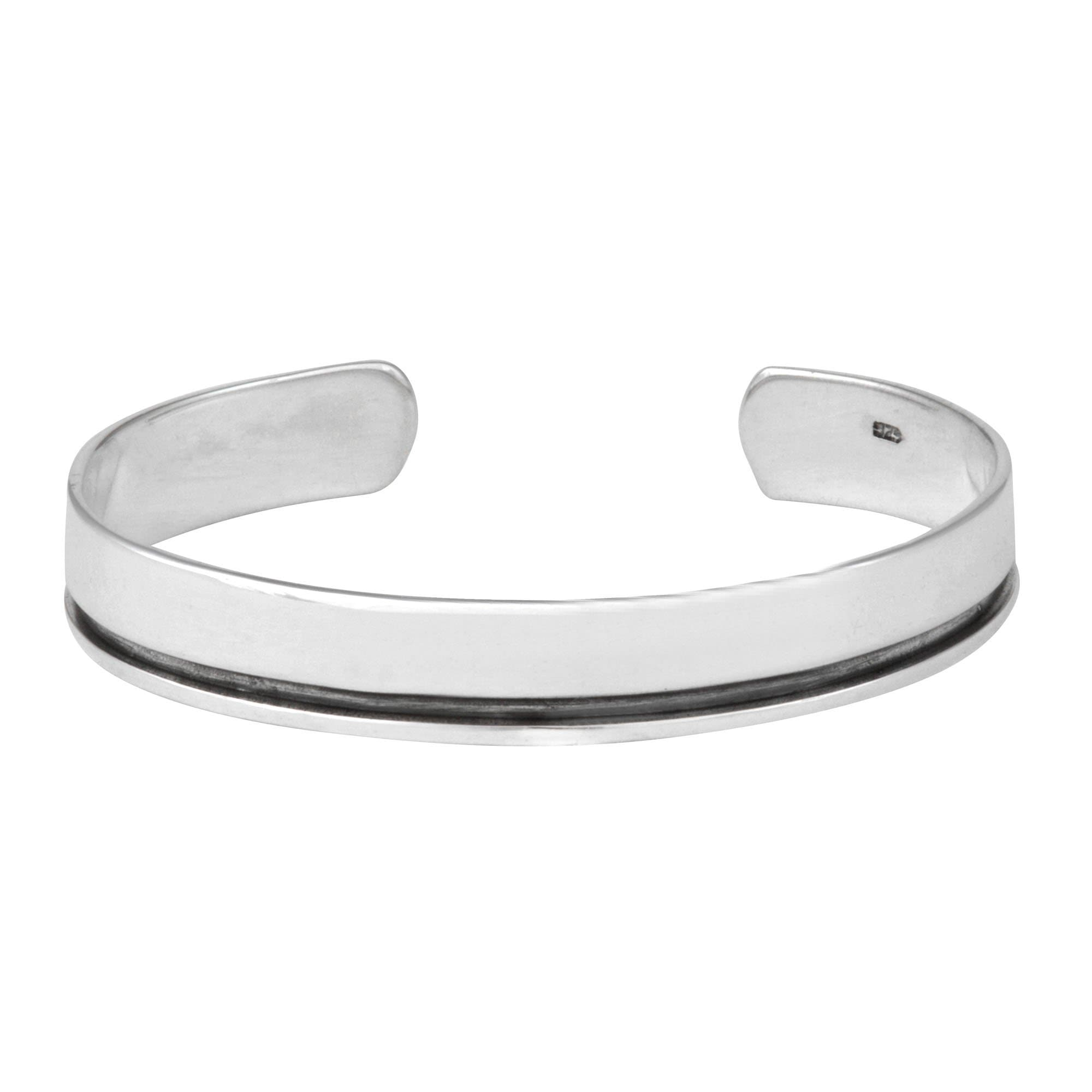 links sterling bangles missing jewellery bracelets bangle plain silver chunky product