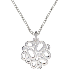 Load image into Gallery viewer, Sterling Silver Contemporary CZ Oval Cluster Set - Silverly