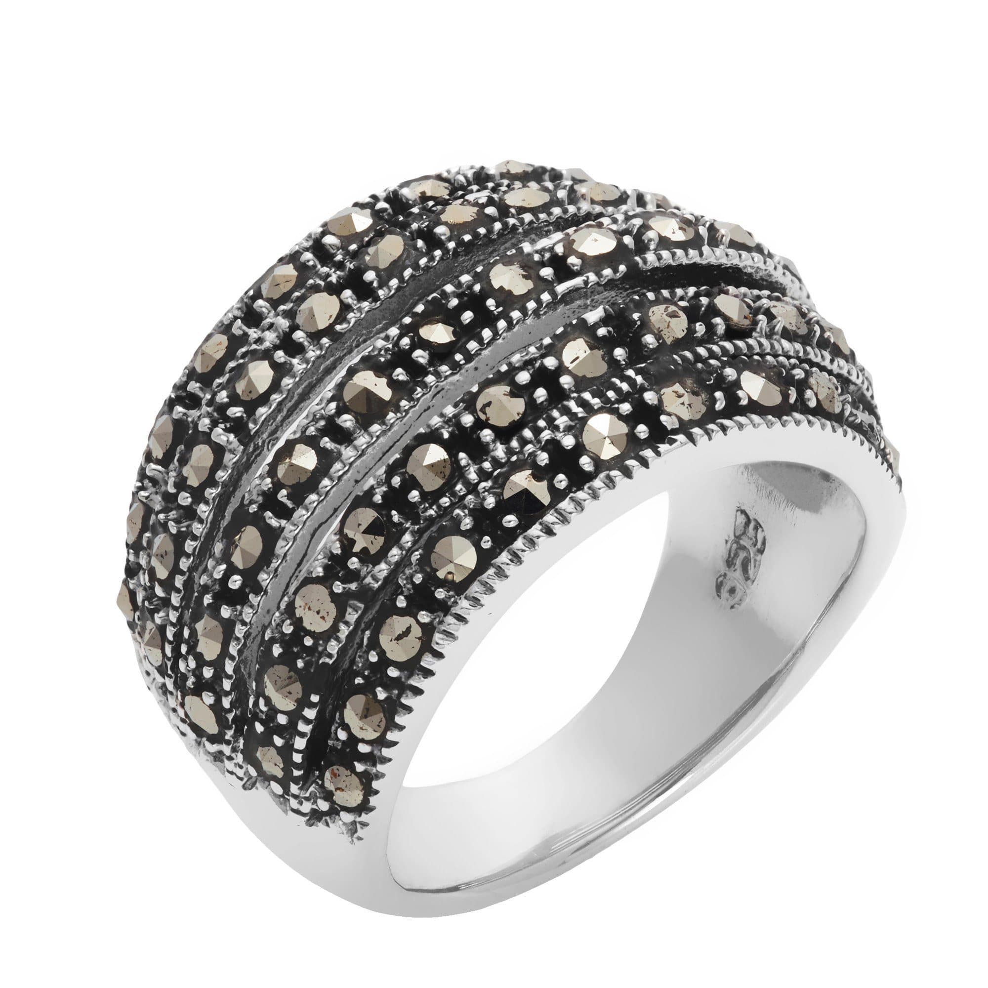 estate marcasite jewelry product bestowment rings endearing jack judith ring pearl category