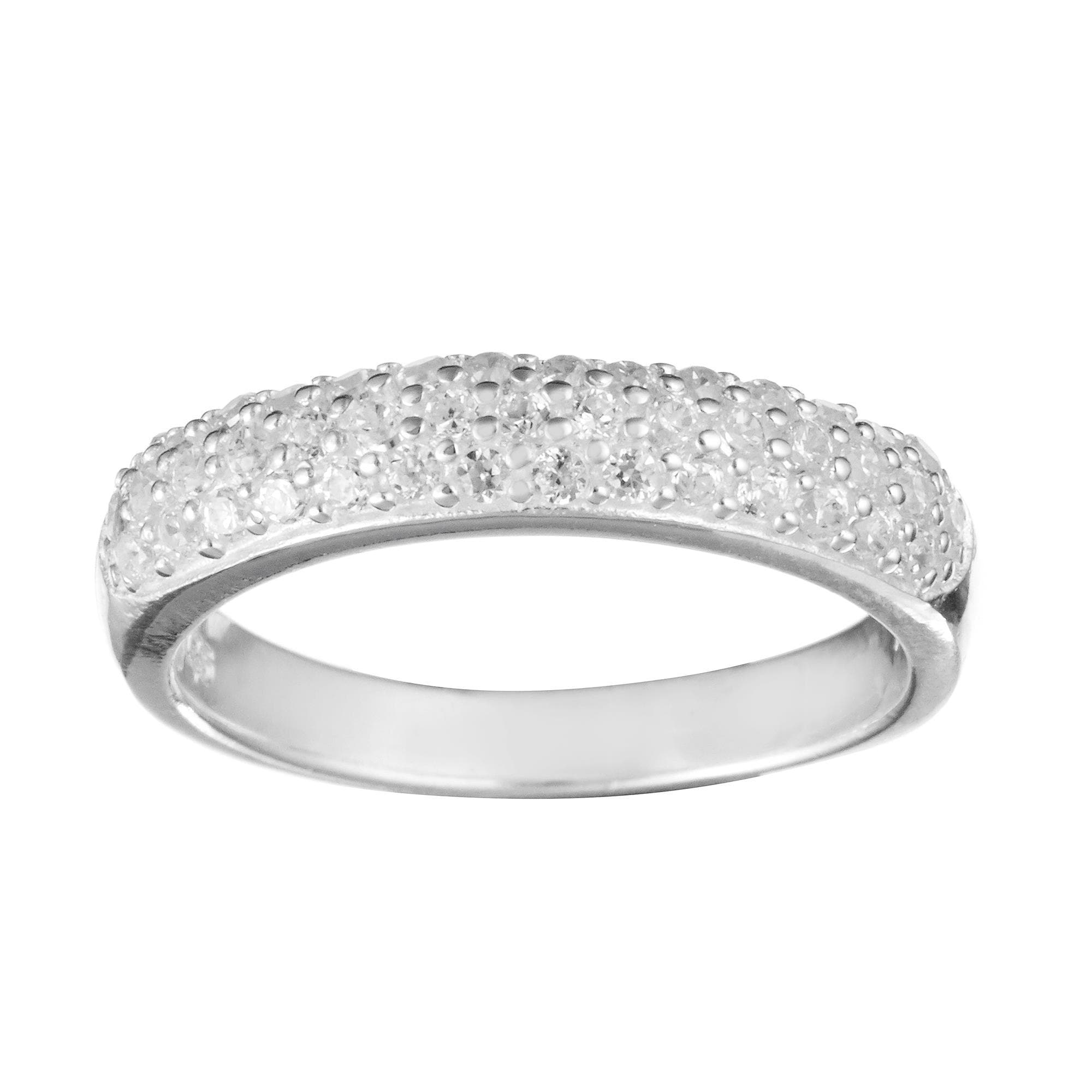 double cz band faux cubic bands diamond beloved sparkles round cluster cut products cross ring fashion criss eternity zirconia ethel