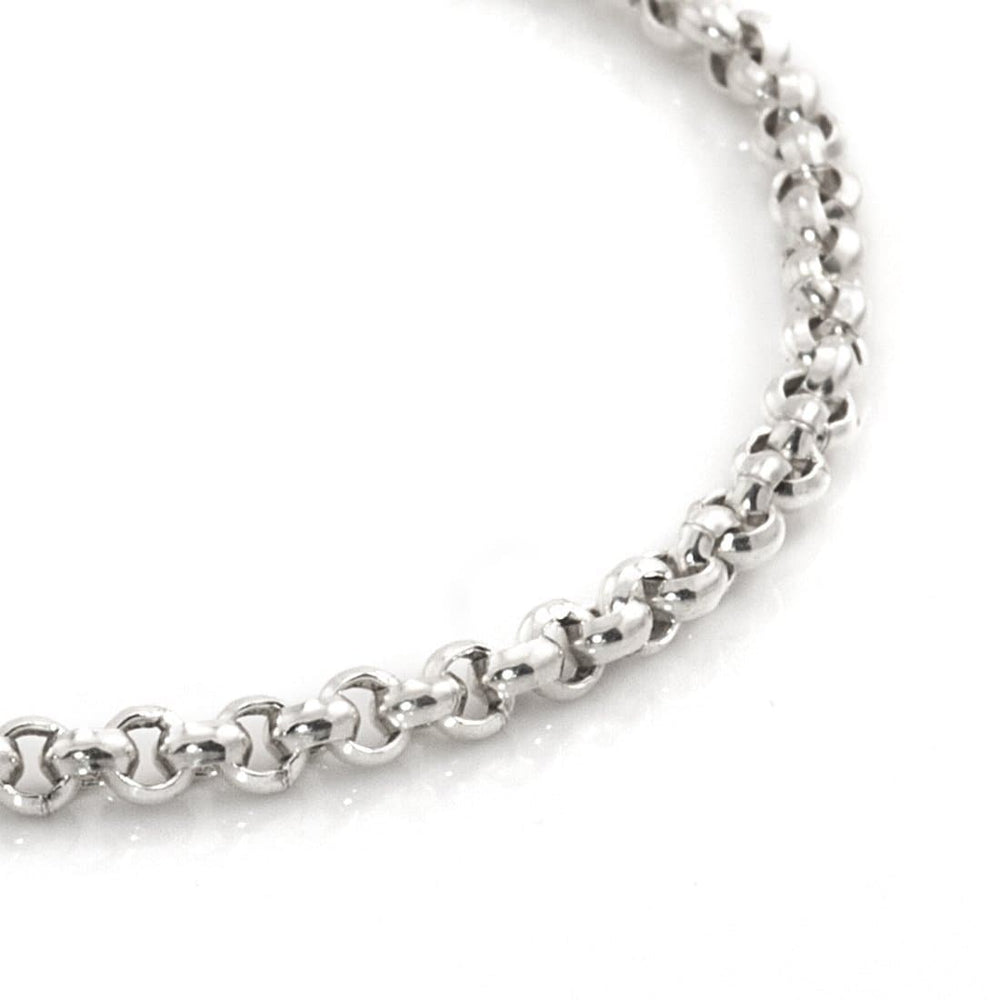 Load image into Gallery viewer, Sterling Silver Rolo Bracelet