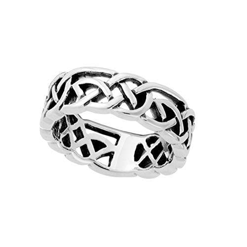 Sterling Silver Celtic Trinity Knot Ring