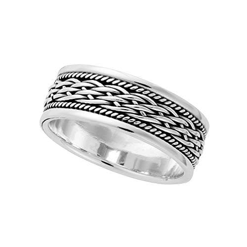 Load image into Gallery viewer, Sterling Silver Celtic Braided Knot Ring