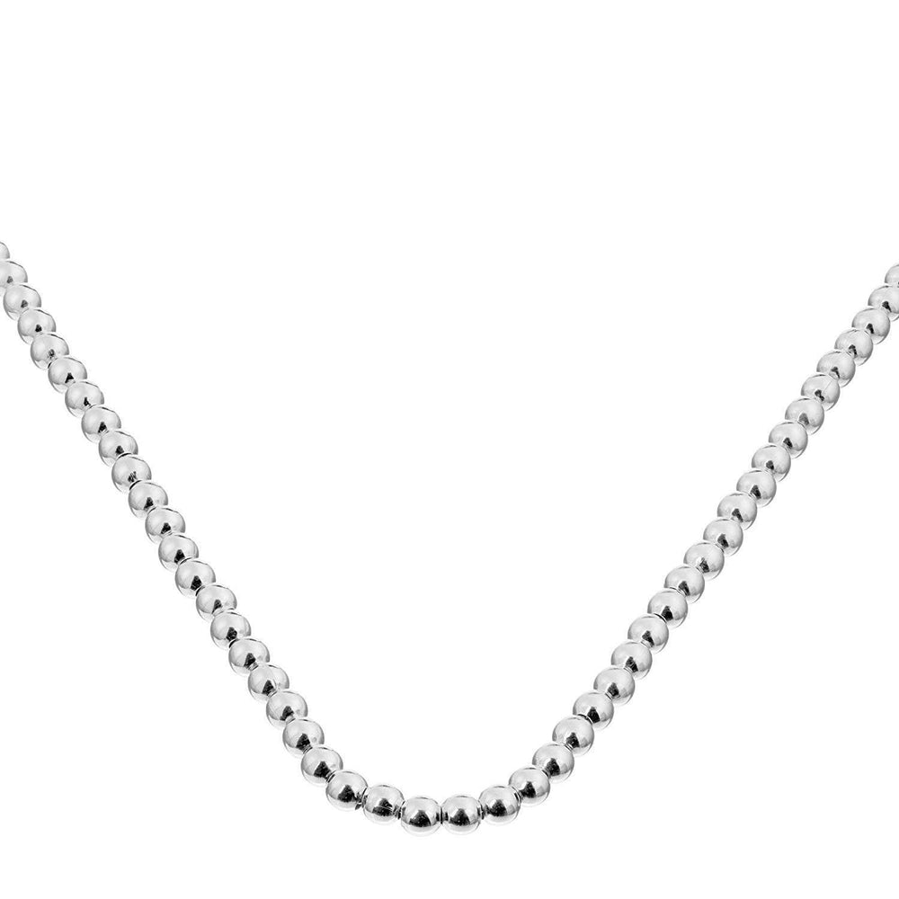 Sterling Silver Multi-Ball Necklace