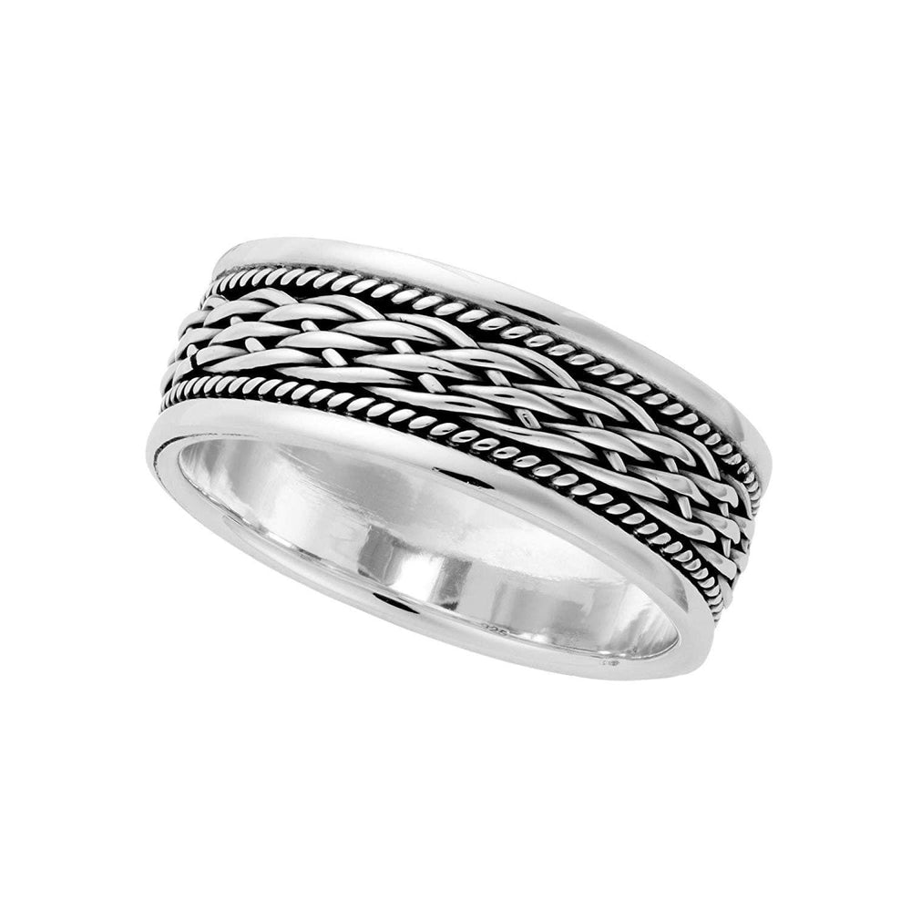 Sterling Silver Celtic Braided Knot Ring