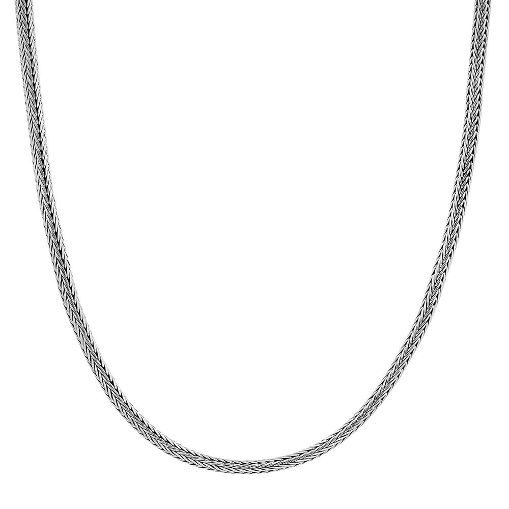 Sterling Silver Balinese Snake Chain Necklace