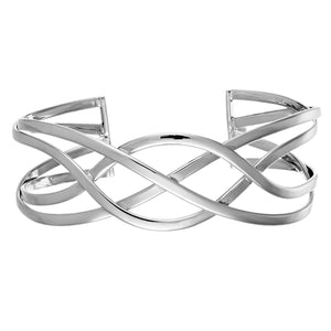 Load image into Gallery viewer, Sterling Silver Celtic Knot Bangle