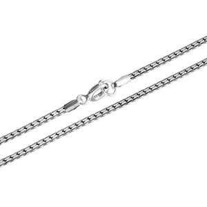 Load image into Gallery viewer, Sterling Silver Flat Snake Chain Necklace