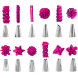 83 pcs Cake Decorating Kit with 44 Numbered Icing Tips and Frosting Tools Baking Supplies