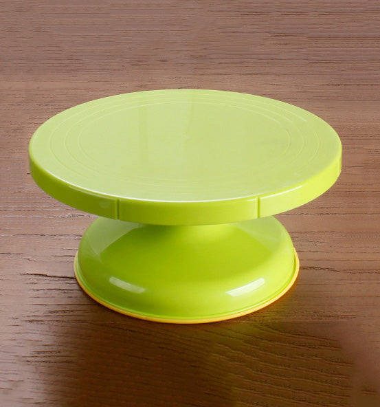 Cake Stand Revolving Cake Decorating Turntable With Rubber Ring