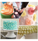 52Pcs Cake Cupcake Decorating Tips Icing Piping Nozzles Set