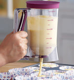 Pancake Cupcake Batter Dispenser With Measurement for Pastry Baking Tools