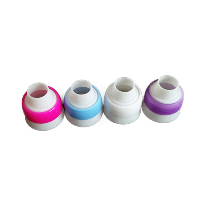 Single Color Russian Piping Coupler for Large Size Icing Tips/Nozzles and Pastry Bags