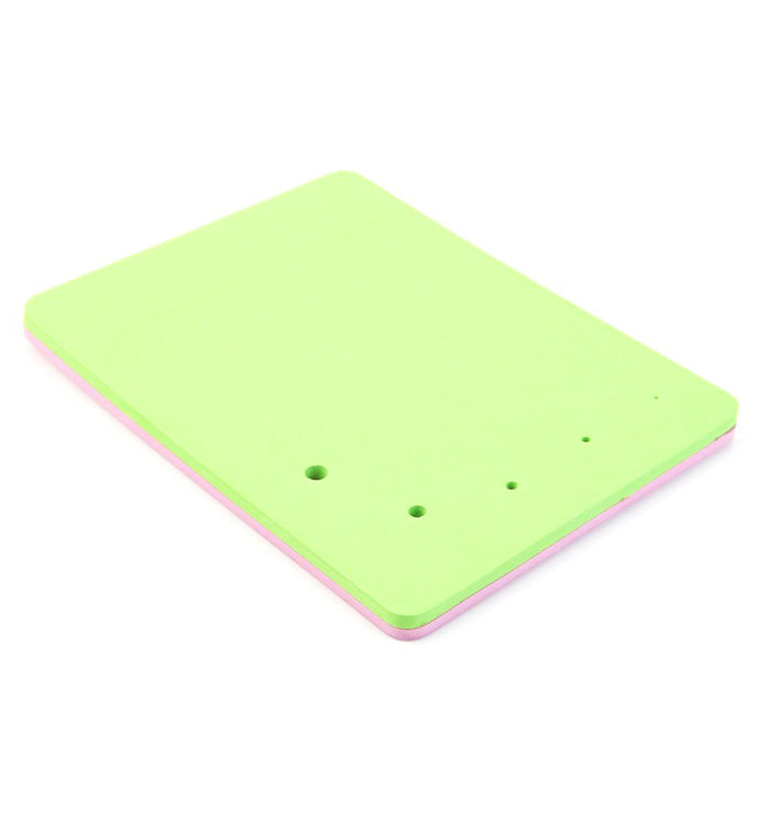 Double-Sided Five-Hole Fondant Cake Mat Square Sponge Foam Pad DIY Tool Mould