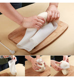 DIY Cooking Pastry Tools Soft Porcelain Silicone Kneading Dough Bag
