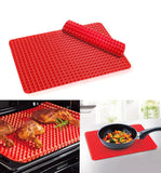 Non-Stick Silicone Baking Mat Pyramid Pan Oven Tray Baking Sheet