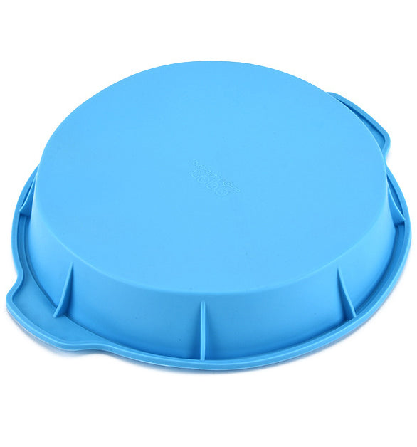 Round Non-Stick Silicone Muffin Cake Pizza Bread Pans Moulds
