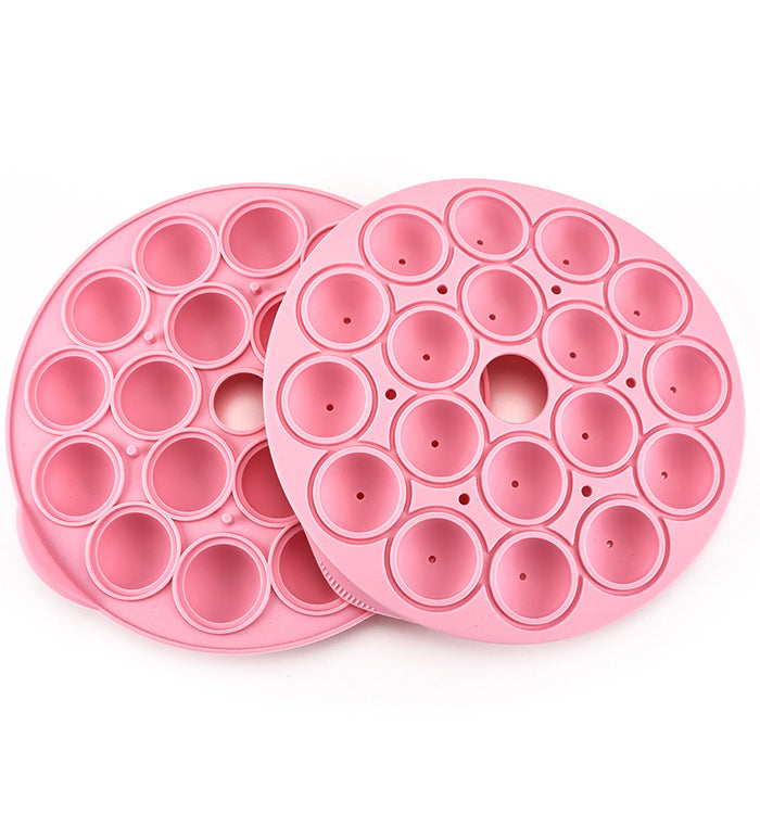 18 Cavity Silicone Lollipop Party Cupcake Baking Mould Cake Pop Mould Tray