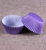 100-Count Standard Size Purple Cupcake Paper/Baking Cup/Cup Liners