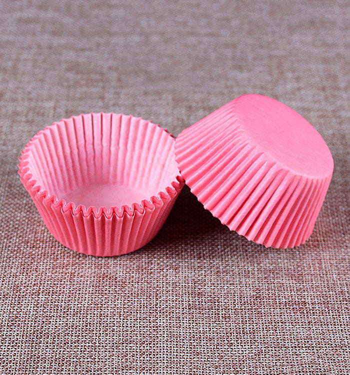 100-Count Standard Size Pink Cupcake Paper/Baking Cup/Cup Liners
