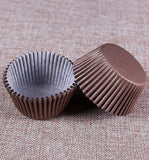 100-Count Standard Size Brown Cupcake Paper/Baking Cup/Cup Liners