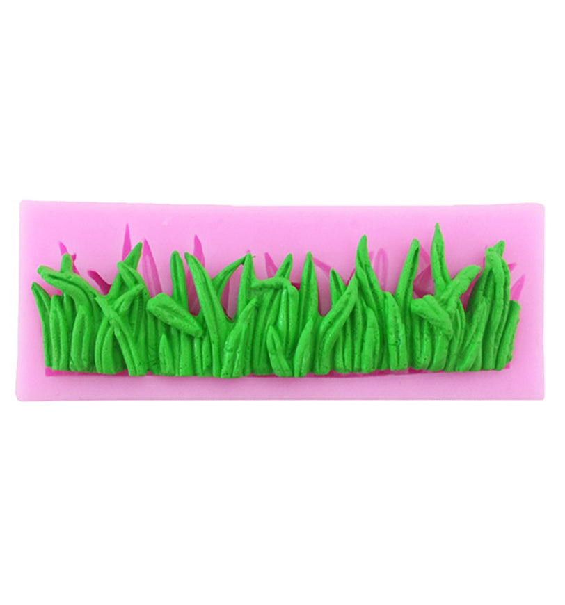 Grass Vine Border Swag Icing Fondant Silicone DIY Cake Chocolate Mould
