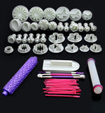 15 Sets (53pcs) Fondant Cookies Cake Cutter Mould Cake Decration Tool Set