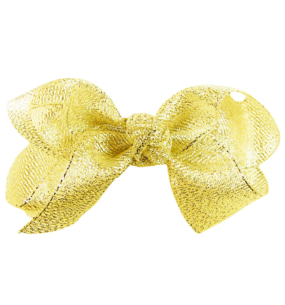 22M× 2CM Golden Glitter Metallic Sparkle Fabric Ribbon For Gift Wrapping