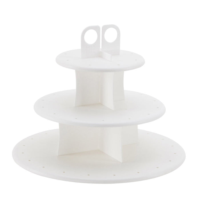 Cupcake and Cake Pop 3-Tier Display Stand