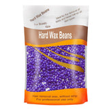 Lavender Flavor Hair Removal Hard Wax Beans Hard Body Wax Beans For Facial Arm Legs 300g/bag