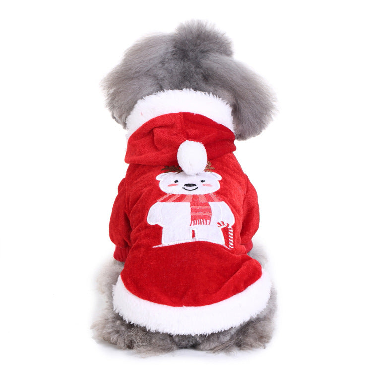Christmas Cute Bear Pet Dog Puppy Costume Pet Supplies