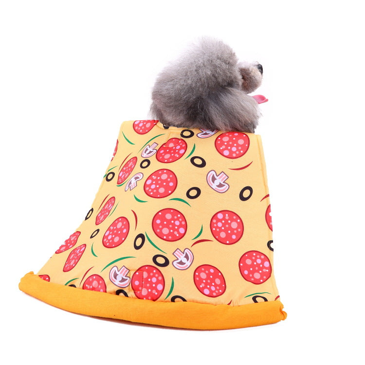 Christmas/Halloween Pizza Pet Dog Puppy Costume Pet Supplies